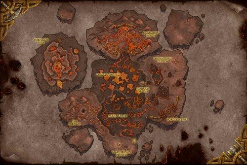 Пещеры Стенаний Карта